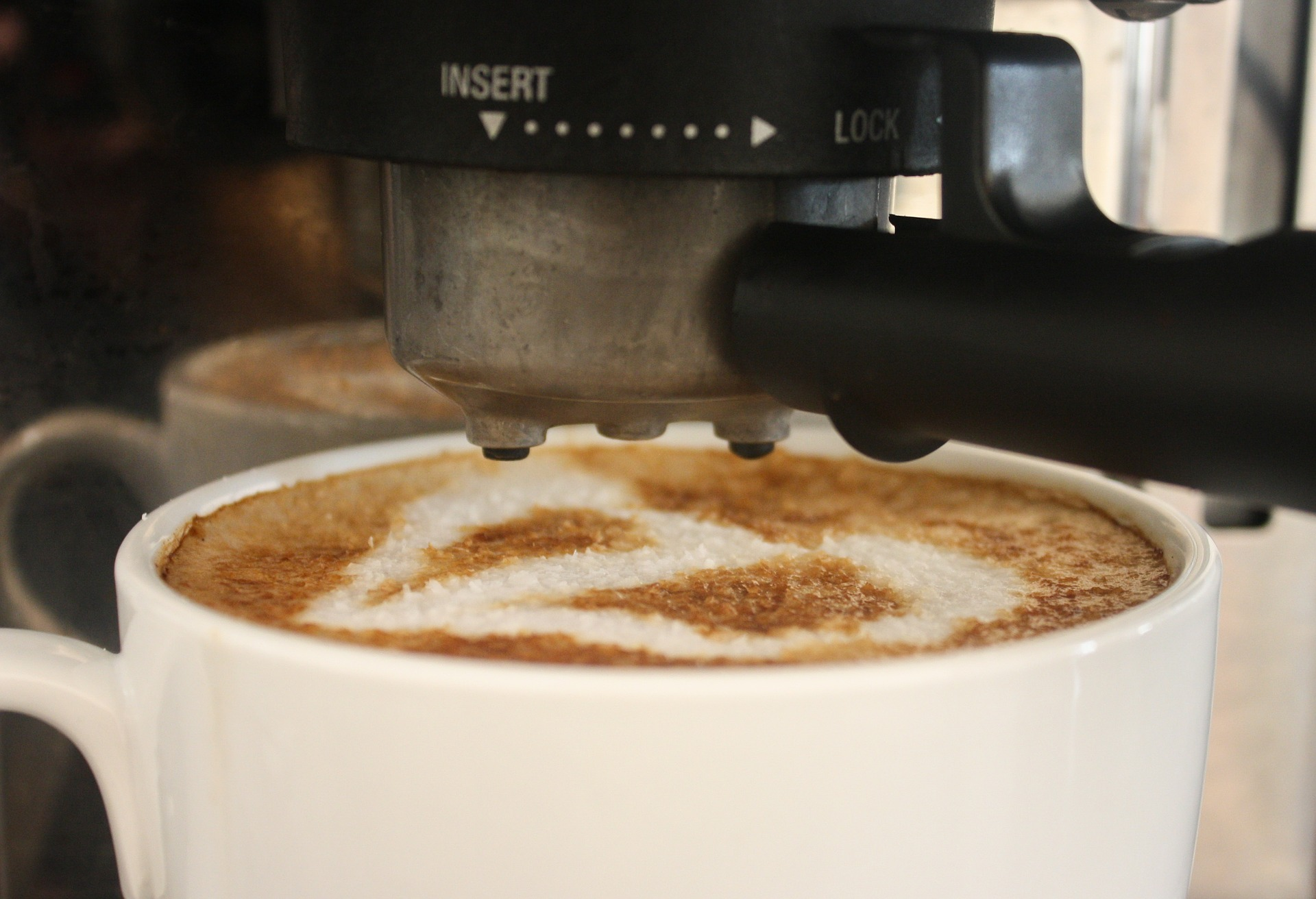 Frische Tasse Kaffee